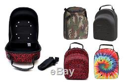 New Era 6-Pack CAP CARRIER Black Camo Transport Protect Fitted Caps Snap Hats