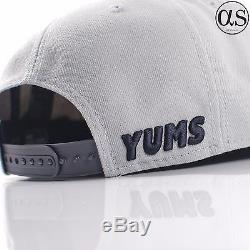 New Era 9FIFTY x Yums Smiley Face'Classic Outline' Grey/Graphite Snapback Cap