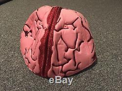 New Era Brain Stew Rare Fitted Hat Sz 7 1/2 Limited Edition pink maroon rare