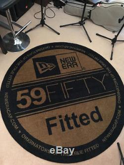 New Era Cap 59FIFTY Fitted Floor Rug 1 of 1 Worldwide RARE