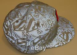 New Era Cap Hat Fitted 7 5/8 Superman 59Fifty Reflective DC Comics Polyester