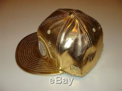 New Era Cap Hat Star Wars The Force Awakens Character Face C3PO Gold Droid 7 5/8