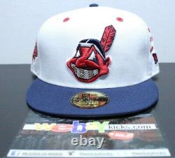New Era Cleveland Indians 1997 WS Savior Jae Tips Grills Size 7 5/8 Fitted Hat