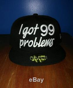 New Era Jay-Z 99 Problems 59Fifty Exclusive Cap Hat Fitted Music Legend Beyonce