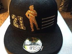 New Era Limited Edition Roberto Clemente Capture The Flag Hat #160/288 7 1/8