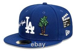 New Era Los Angeles Dodgers 2020 Palm Tree LA Area Codes 59Fifty Fitted 7 3/8