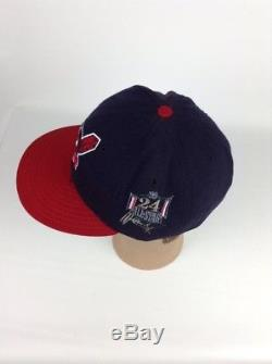 New Era MLB All Star Game 1999 Fitted Hat Cleveland Indians Manny Ramirez