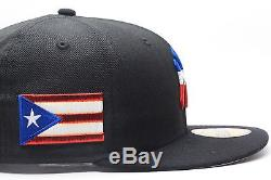 New Era New York Yankees Custom Fitted Hat Puerto Rico Rican Flag PR Day Parade