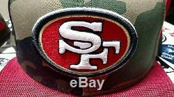 New Era San Francisco 49ers Lot of 8 Fitted Hats
