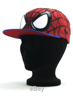 New Era Spider-Man Exclusive 59fifty Custom Fitted Hat Size 7 1/4 Marvel Comics