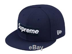 New Era Supreme Playboy Box Logo 59Fifty Fitted Cap Hat Camp SS 2017 Size 7 1/2