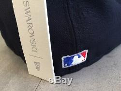 New Era Swarovski New York Yankees Fitted 59Fifty Limited Edition Hat 7 3/8