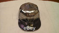 New Era THOR Metallic silver 59FIFTY FITTED extremly RARE
