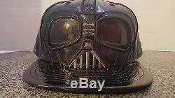 New Era X DARTH VADER STAR WARS The FORCE Big Face 5950 59FIFTY Hat le 7 1/2