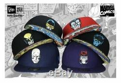 New Era X Marvel Comics Xmen rare (complete set) launched March 2009 59fifty