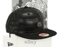 New Moncler New Era Special Edition Black Logo Baseball Cap Hat S Small