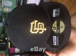 New San Francisco Giants Official New Era World Series Gold Ring hat 7 5/8
