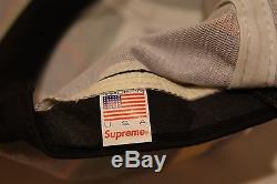 New Supreme Camp Hat Rare Free Shipping Ny 100% Authentic