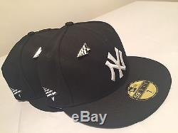 New York Yankees New Era MLB x Roc Nation 59FIFTY Cap Hat size 7 + Extras
