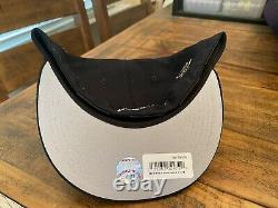 New York Yankees New Era x FELT 59FIFTY Fitted Hat 7 3/4 Navy Butterfly Gray UV