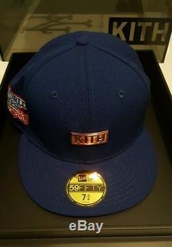 New era 59fifty kith mets rose gold nyc exclusive size 7 3/4 ronnie fieg rf