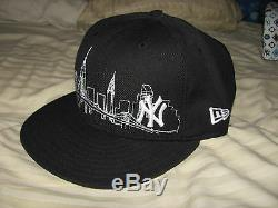 New era 7 and 1/8 hats 5 hats in one lot