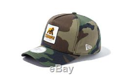 New era XLARGE 9Forty D-Frame Walking Ape Patched Cap green Justin Bieber model