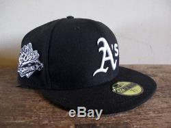 Oakland A's x G-Eazy Black New Era 59FIFTY Fitted Cap 7 5/8 hat athletics raider