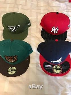 One of a Kind New Era Fitted Cap Lot