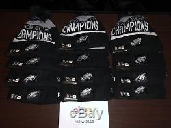 PACK OF 12 NEW ERA Philadelphia Eagles Super Bowl LII Champions Parade Knit Hat