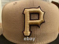 Pittsburgh Pirates 2006 All-Star Game Camel New Era Fitted Hat 7 3/4 Brown UV