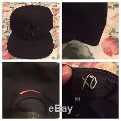 RARE Limited Edition The Weeknd XO x New Era Echoes Of Silence Snapback Cap