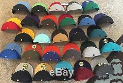 RARE New Era Fitted Cap Sz 7 1/2 LOT COLLECTION Hat NBA NHL MLB Custom Vintage 5