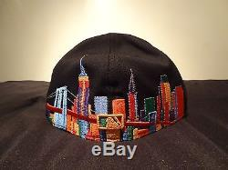 RARE New Era New York Yankees Fitted Hat MULTICOLOR Size 7 3/8 snapback cap 23
