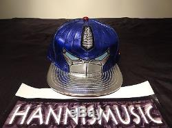 RARE New Era Transformers Fitted Hat OPTIMUS PRIME Size 7 1/2 the last knight