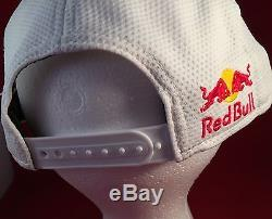 Rare Red Bull Athlete Only 9fifty New Era Snapback Hat Cap Oem Ss15 Train Mesh