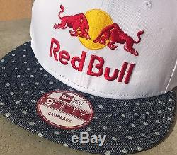 RED BULL ATHLETE ONLY HAT NEW ERA Polka dot VERY RARE