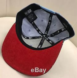 RED BULL ATHLETE ONLY HAT NEW ERA VERY RARE Blue Red Plaid