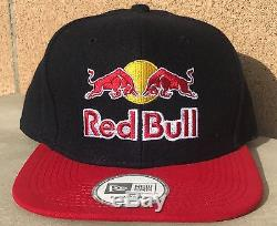 Red Bull Athlete Only Hat New Era Wool Very Rare