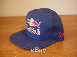 RED BULL Hat Snapback ATHLETE ONLY very rare NEW ERA cap redbull energy drink