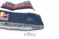 RED BULL NEW ERA ATHLETE ONLY BEANIE FLEECE LINED EXTREMELY RARE BRAND NEW