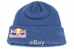 RED BULL NEW ERA ATHLETE ONLY NAVY BEANIE 100% AUTHENTIC BRAND NEW MONSTER