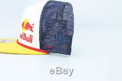 RED BULL NEW ERA ATHLETE ONLY SNAPBACK HAT 100% AUTHENTIC FOAM FRONT