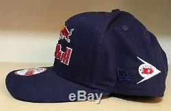 RED BULL hat team KTM Snapback hat NEW ERA rare! ATHLETE ONLY used