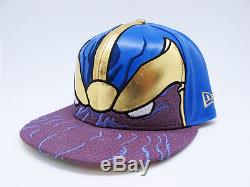 Rare MARVEL x NEW ERA Thanos 59FIFTY Fitted Cap 7 5/8 hat star wars avengers