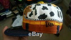 Rare deadstock Japanese disney pixar toy story new era fitted cap size 71/2