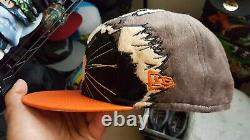 Rare marvel rocket racoon new era fitted cap size 73/8