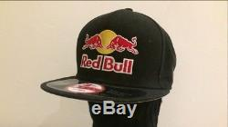 Red Bull Athletes Only Black Hat Cap New Era Dc 9fifty Athlete Travis Pastrana
