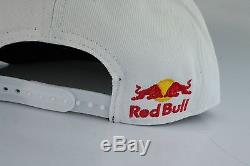 Red Bull New Era 2017 White Floral Authentic Athlete Only Monster Energy Osfa
