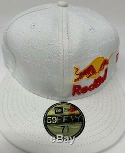 Red Bull New Era Athlete Only Hat Fitted NewEra 59Fifty Size 7 1/2 Deadstock